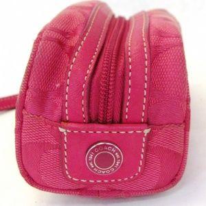 Coach Pink Makeup Bag